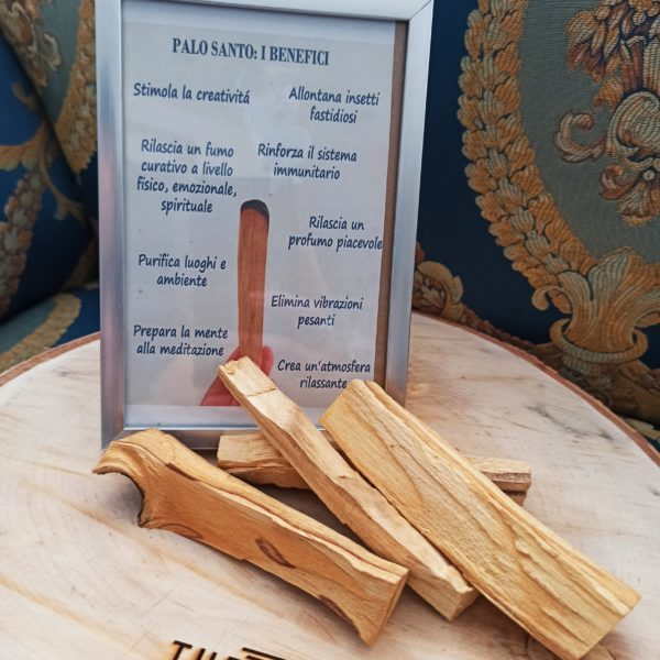 incenso naturale di palo santo